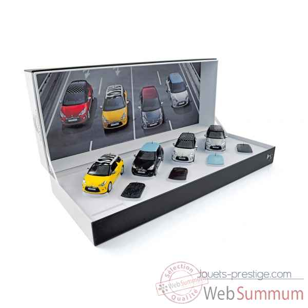 Coffret 4 citroen ds3 2010 interchangeable roof  Norev 155283