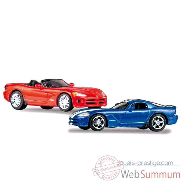 Coffret dodge viper coupe + convertible Norev 649530