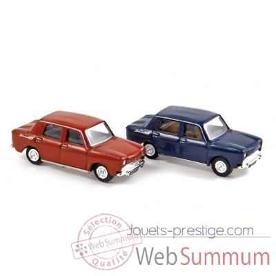 Coffret de 4 x simca 1000 1962 red / blue  Norev 571091