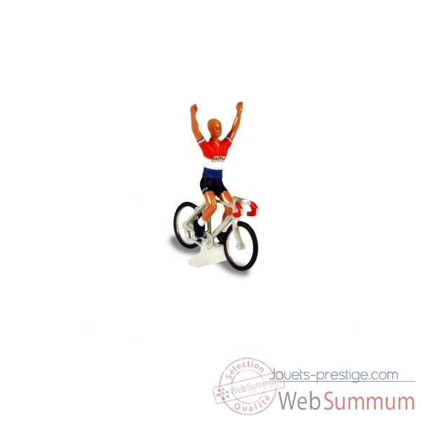Cycliste 1/43 charly gaul - champion du luxembourg - tdf 1958 Norev CC4550