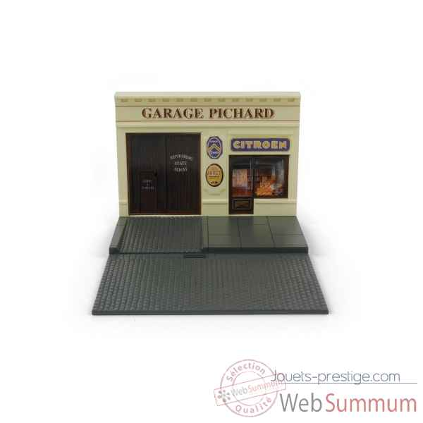D cor garage citro n norev 130002 dans citroen sur jouets prestige - Garage miniature citroen ...