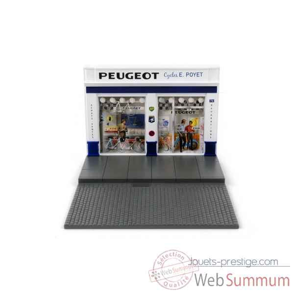Decor magasin de cycle peugeot Norev 120004
