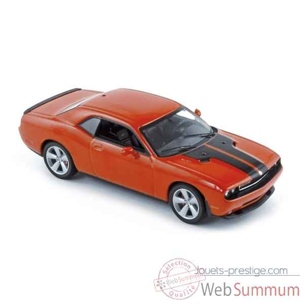 Dodge challenger coupe srt8 2008 orange  Norev 950030