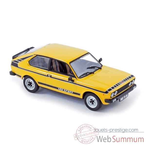 Fiat 128 coupe sport 1978 yellow Norev 770072