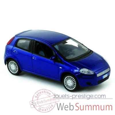 fiat grande punto 5p bleu 2005 norev dans miniature auto f g sur jouets prestige. Black Bedroom Furniture Sets. Home Design Ideas