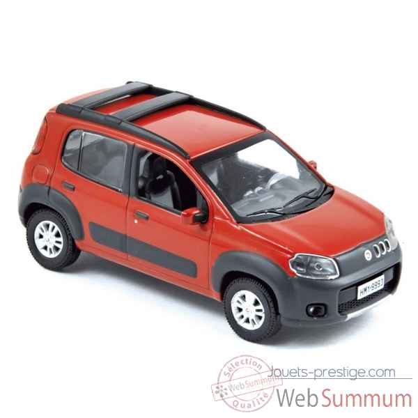 Fiat uno way 2010 red  Norev 772961