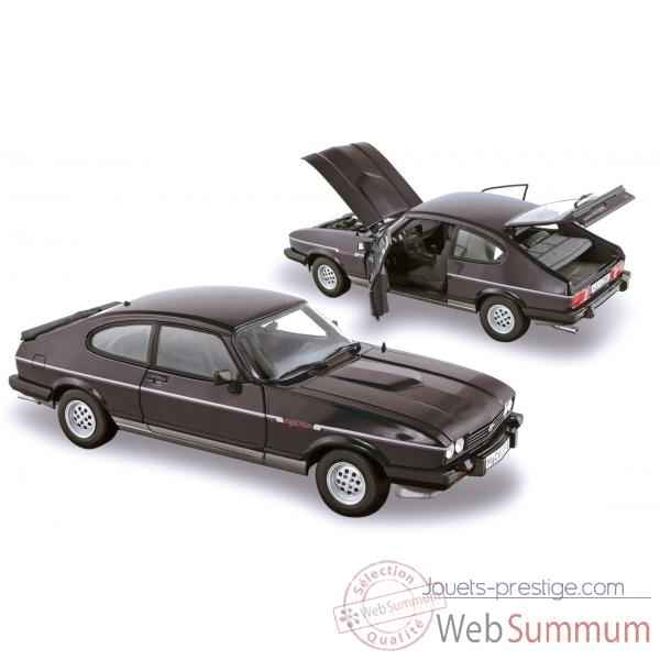 Ford capri mk. 3 2.8 injection 1983 black & silver 1 Norev 182712