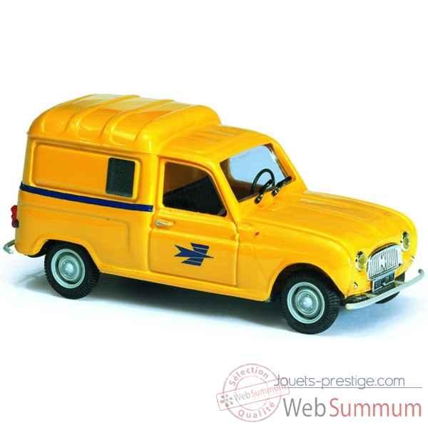 r4 fourgonnette poste norev 511002 dans miniature auto f g. Black Bedroom Furniture Sets. Home Design Ideas