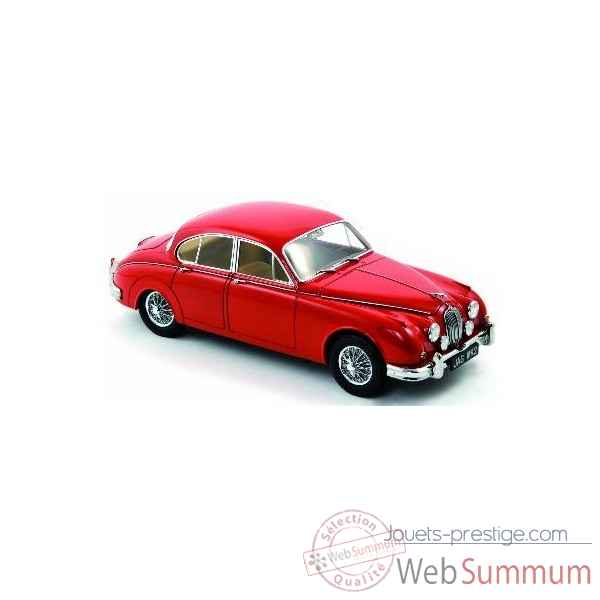 Jaguar mk2 1962 3.8 carmen red - limited edition 300ex pour la france Norev 182730