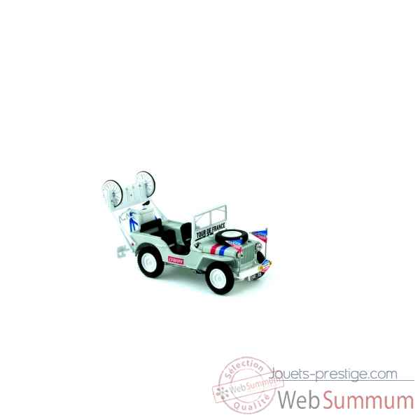 Jeep willys assistance tour de france 1951 Norev 845005