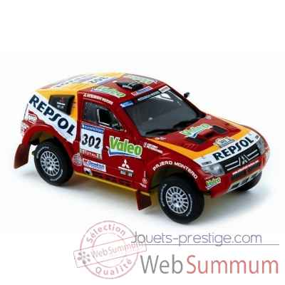 Mitsubishi pajero evolution dakar winner peterhansel / coffret 2007 Norev 800106