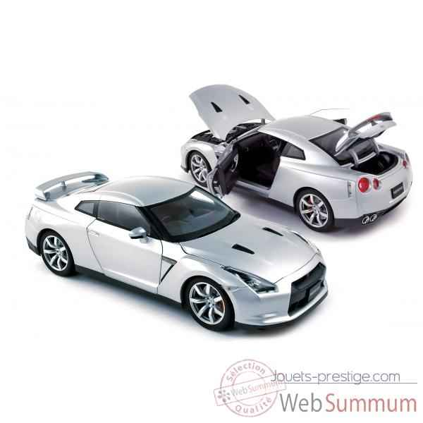 Nissan gtr r-35 lhd 2008 ultimate silver  Norev 188050