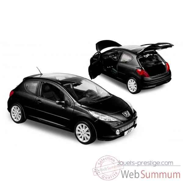 peugeot 207 berline 3p noir obsidien 2006 norev dans peugeot sur jouets prestige a. Black Bedroom Furniture Sets. Home Design Ideas