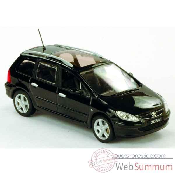 peugeot 307 sw noir norev dans peugeot de miniature norev auto 1 sur jouets prestige. Black Bedroom Furniture Sets. Home Design Ideas