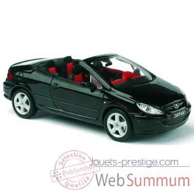 peugeot 307 cc noir norev dans peugeot de miniature norev auto 1 sur jouets prestige. Black Bedroom Furniture Sets. Home Design Ideas