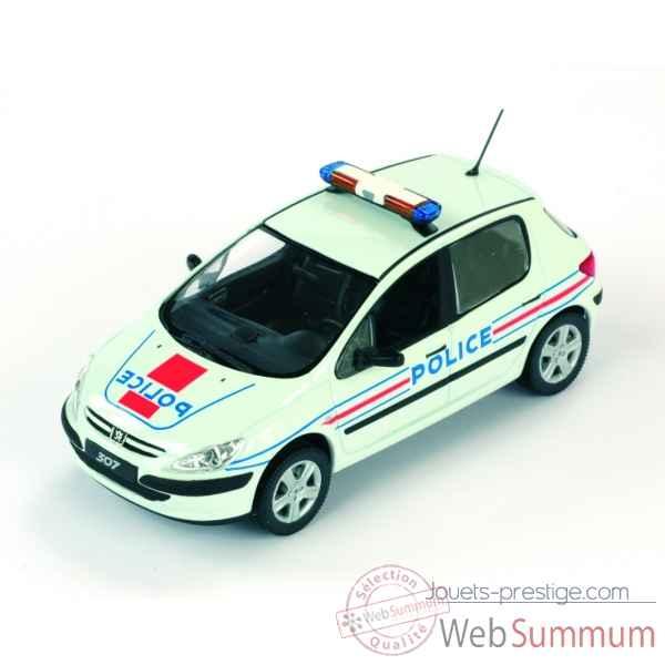 De Miniature Police Norev Auto Sur 307 Peugeot 1 Dans tshdCBQrx