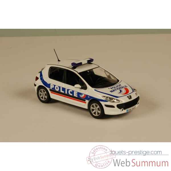 Peugeot 307 police nationale 2007 Norev 473719