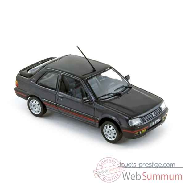 Peugeot 309 gti gris anthracite 1987  Norev 473907