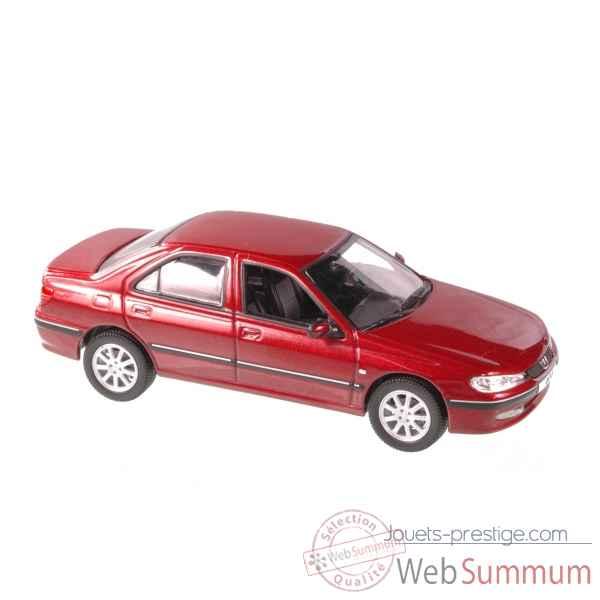 peugeot 406 berline rouge vulcain 2003 norev 474603 dans. Black Bedroom Furniture Sets. Home Design Ideas