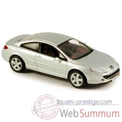 Peugeot 407 coupe gris alu Norev 474778