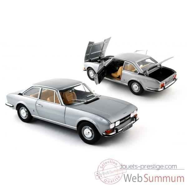 Peugeot 504 coupe gris clair metal  Norev 184757