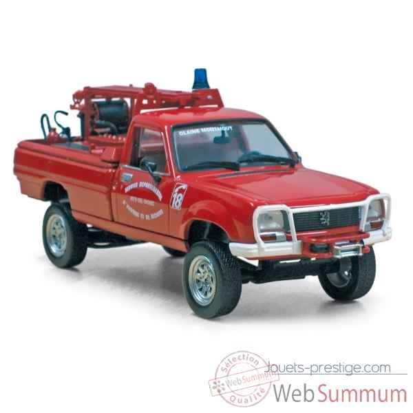 Peugeot 504 pick up 1979 pompiers Norev 475450