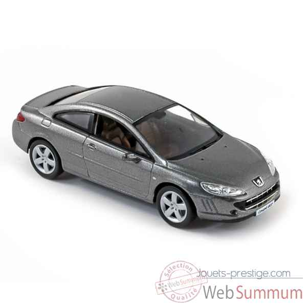 Peugeot coupe 407 2008 moondust grey Norev 474774