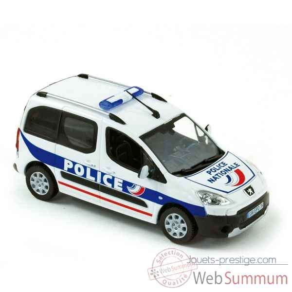Peugeot partner 2008 police nationale Norev 479829