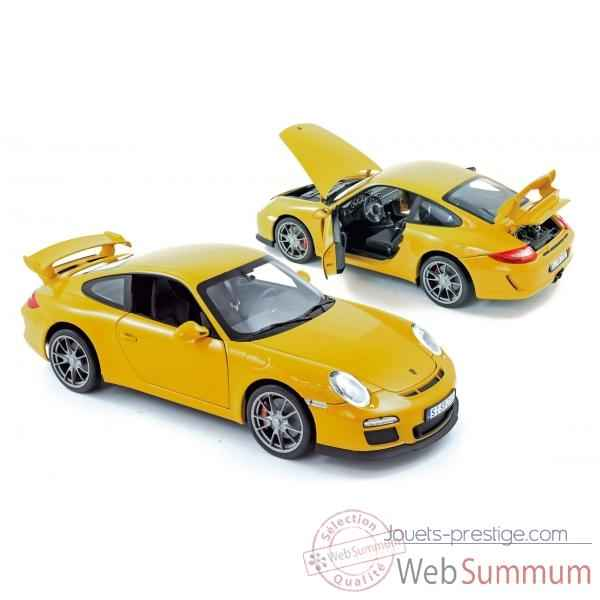 Porsche 911 gt3 2009 speed yellow Norev 187560