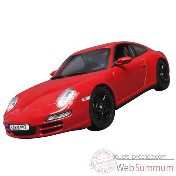 Porsche carrera 4s coupe rouge Norev 187510