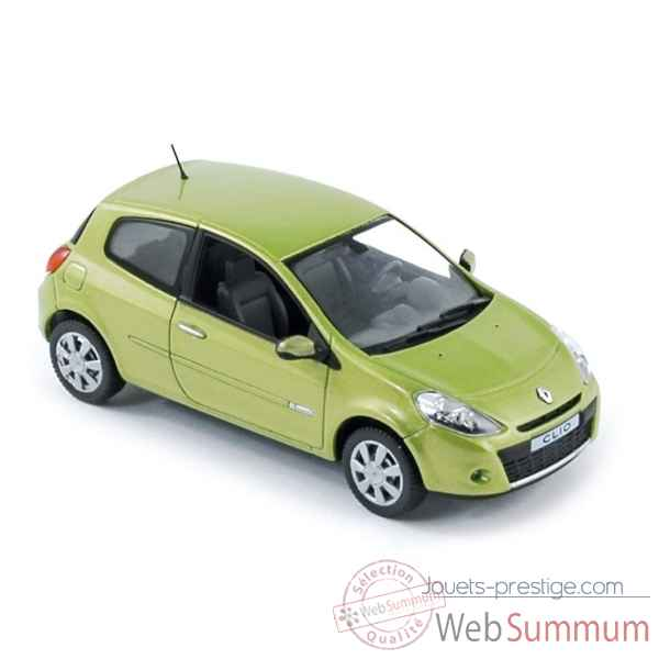 renault clio 2009 appel green norev 517591 dans renault sur jouets prestige. Black Bedroom Furniture Sets. Home Design Ideas