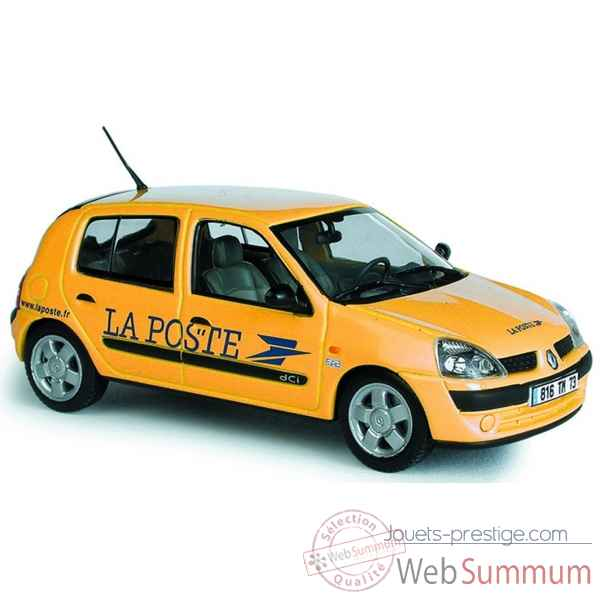renault clio la poste norev 517504 dans miniature auto c sur jouets prestige. Black Bedroom Furniture Sets. Home Design Ideas