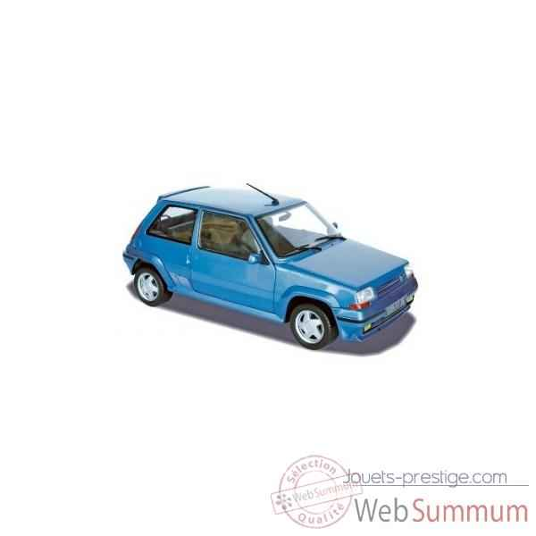 Renault super 5 gt turbo 1988 - metallic blue  Norev 185203