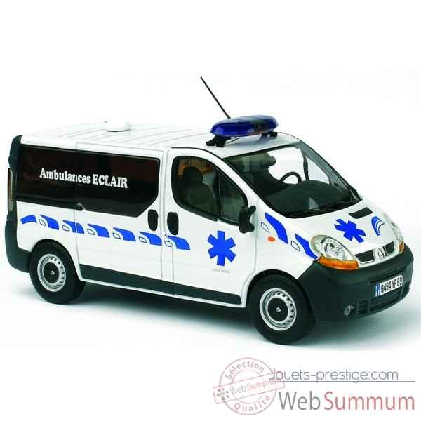 Vsl Auto 518055 Norev Sur Dans Ambulance Miniature Renault Trafic A OwP8n0k