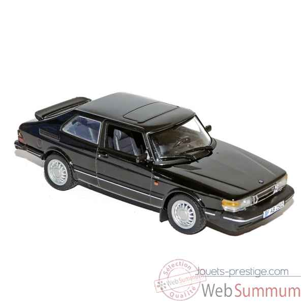 Saab 900 coupe turbo 16 1991 black  Norev 810030