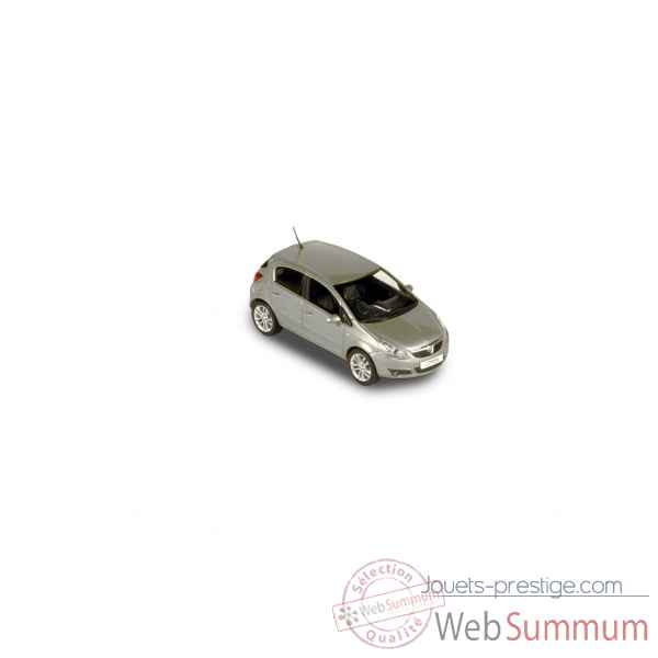 Vauxhall corsa 5p 2006 silver Norev 380002