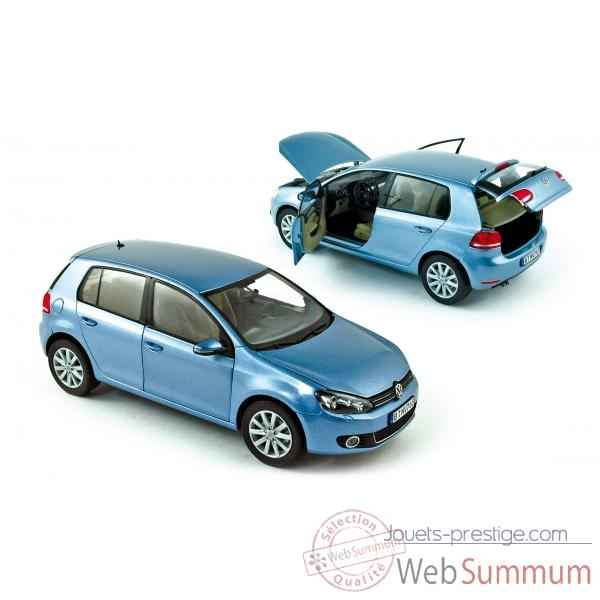 Volkswagen golf 2008 shark blue Norev 188450