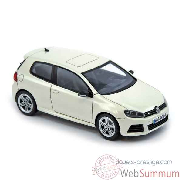 Volkswagen golf r 2009 white Norev PM0064