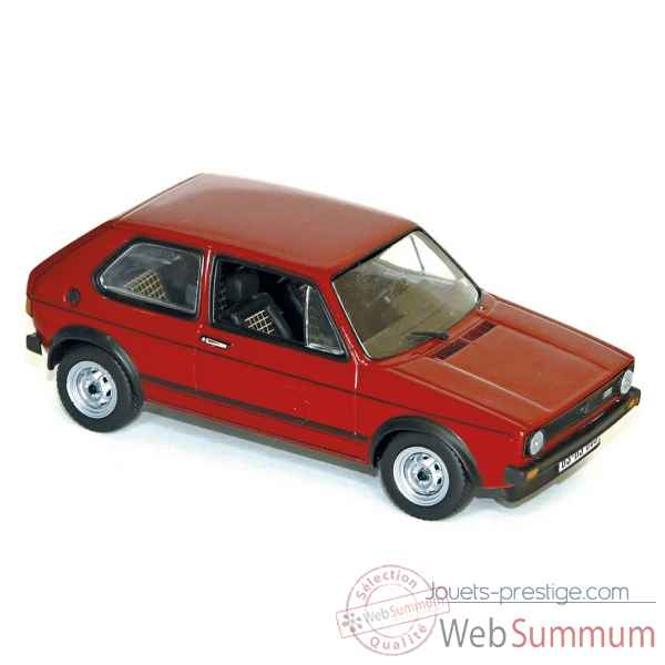 Volkswagen golf gti 1976 red Norev 840046