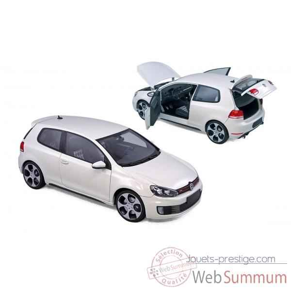 Volkswagen golf gti 2009 candy white  Norev 188490