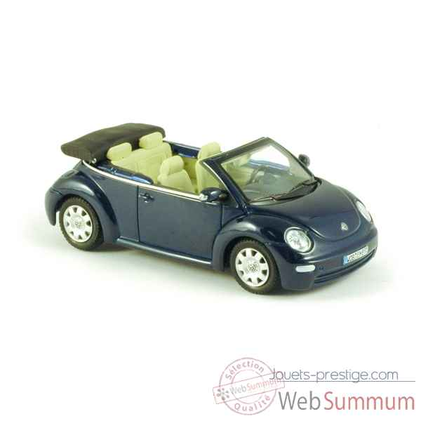 Volkswagen new beetle decapotable bleu marine Norev 840032