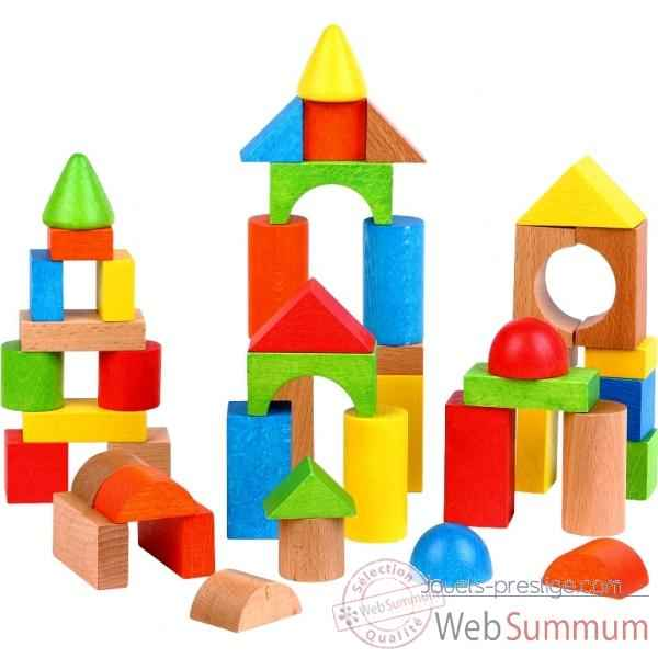 Jeux construction bois dans jouets en bois sur jouets prestige for Construction cube bois