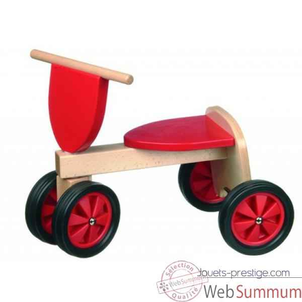 Tricycle couleur rouge -1380
