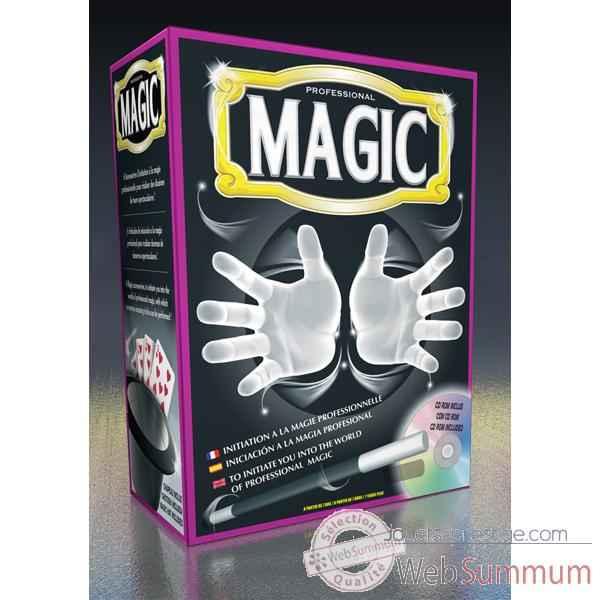 coffret de magie complet pro avec cd oid magic dans magie. Black Bedroom Furniture Sets. Home Design Ideas
