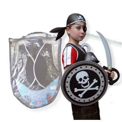 Pack armure mousse Le coin des enfants pirate -17720