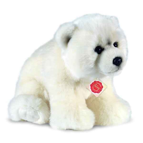 Peluche Hermann Teddy Ours polaire doux -91525 6