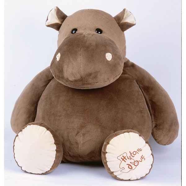 peluche hippopotame hippo super g ant ho1287 de histoire d 39 ours de peluche animaux. Black Bedroom Furniture Sets. Home Design Ideas