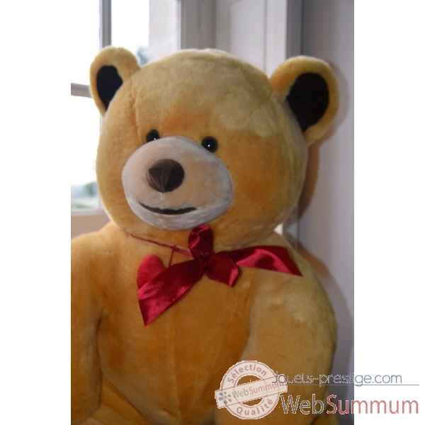 Peluche ours geant Chocolats Lindt Edition limitee -4