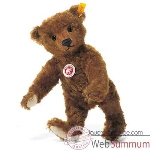 Peluche Steiff Ours Teddy mohair rouille -st004803
