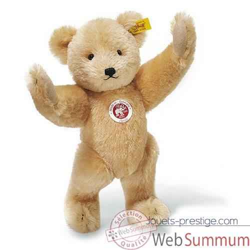Peluche Steiff Ours Teddy Petsy mohair abricot -st037559
